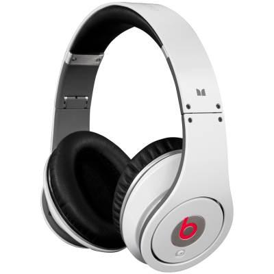 Monster Beats by Dr. Dre. Studio Headphones (White)