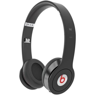 Monster Beats by Dr. Dre. Solo HD Headphones with Control Talk (Black)