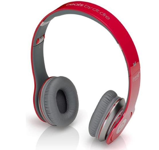 Monster Beats by Dr. Dre. Solo HD Headphones with Control Talk (Red)